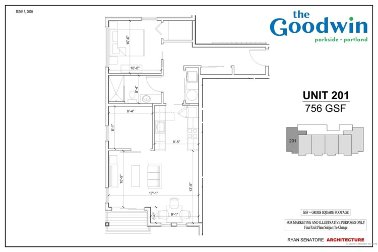 104 Grant Street Unit 201, Portland, ME 04101