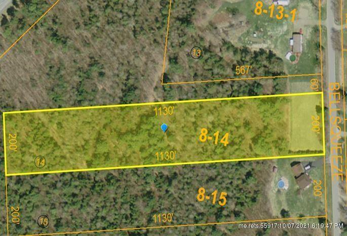 Lot 8-14 Bellsqueeze Rd, Benton, ME 04901
