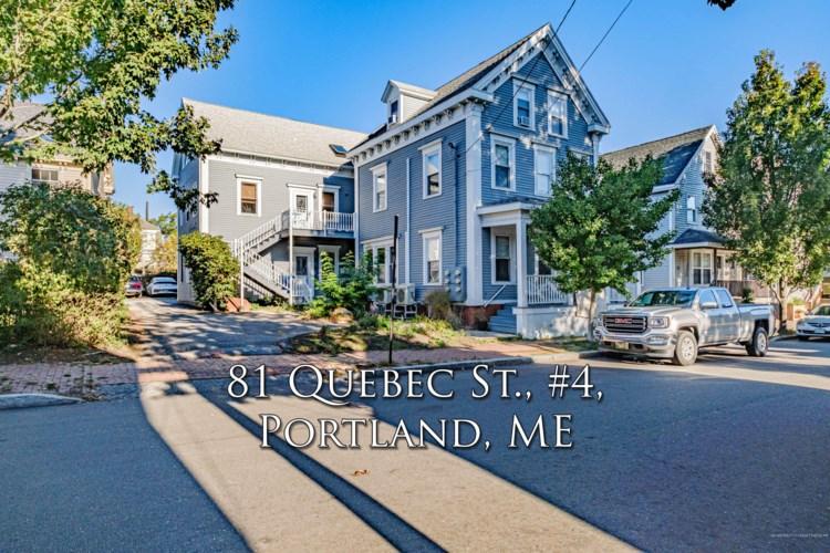 81 Quebec Street Unit 4, Portland, ME 04101