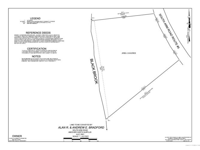 2.8A South Arm Road, Andover North Surplus, ME 04216