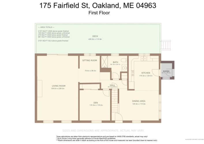175 Fairfield Street, Oakland, ME 04963