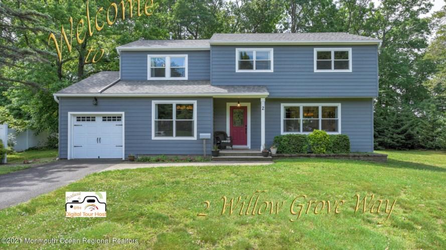 2 Willow Grove Way, Manalapan, NJ 07726
