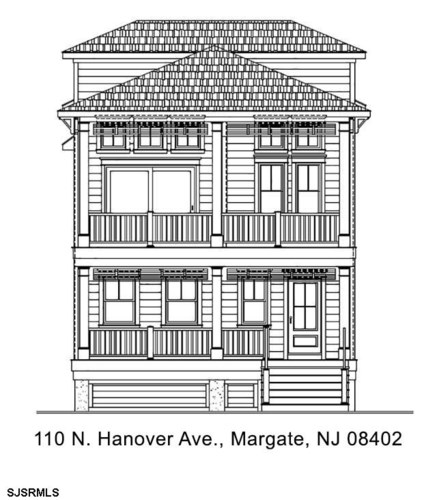 110 N Hanover Ave, Margate, NJ 08402