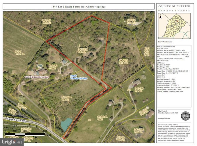 1847 EAGLE FARMS RD, CHESTER SPRINGS, PA 19425