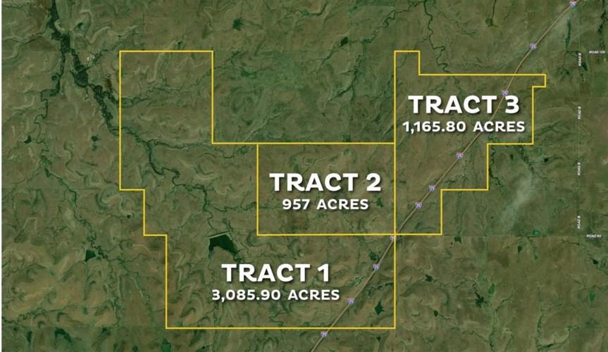 West of Yy Rd & Kansas Turnpike N - Tract 2, Cottonwood Falls, KS 66845