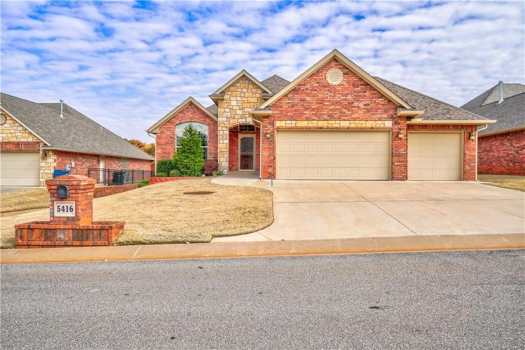 5416 TABLE ROCK DR, Edmond, OK 73025