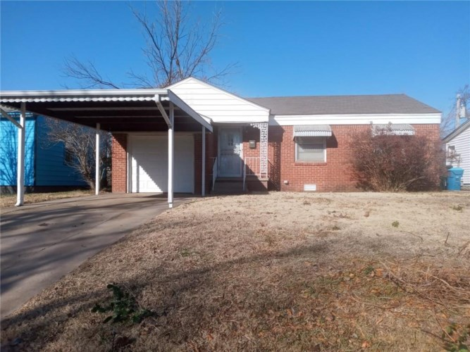311 W MARSHALL DR, Midwest City, OK 73110
