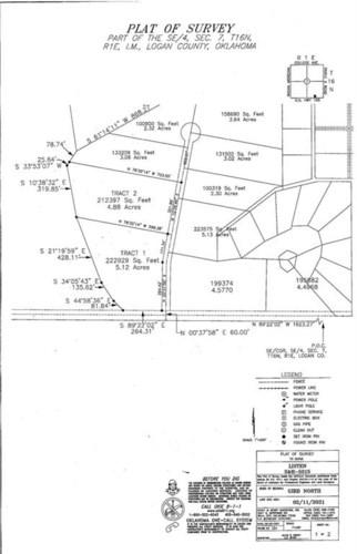 TRIPLE X/HWY 105 TRACT 1, Meridian, OK 73058