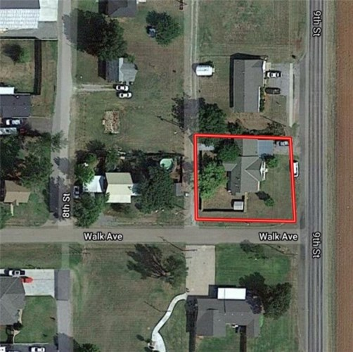 421 S 9TH ST, Canute, OK 73626