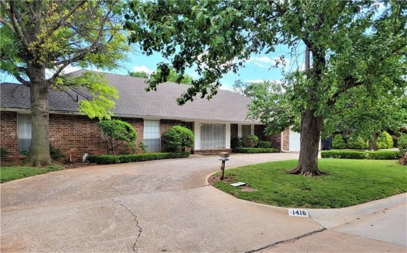 1416 GLENBROOK DR, Oklahoma City, OK 73118