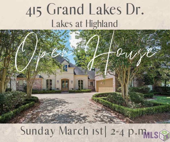 415 GRAND LAKES DR, Baton Rouge, LA 70810