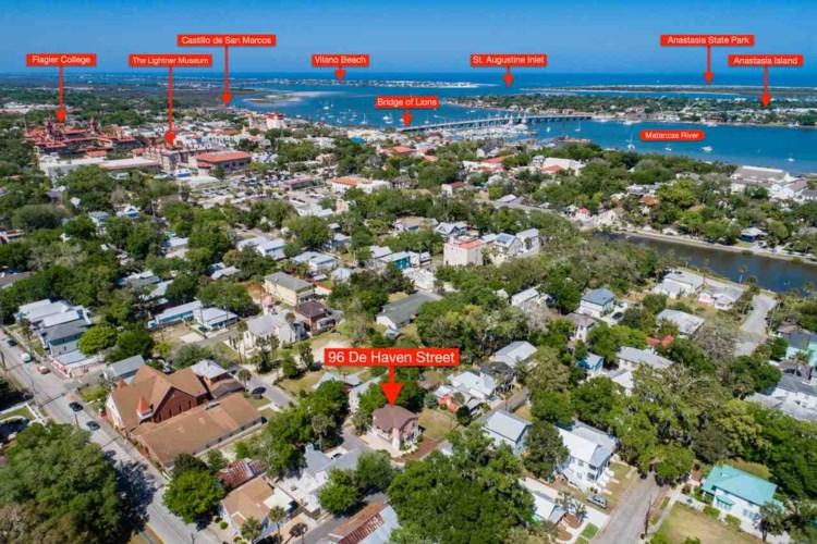 96 De Haven St., St Augustine, FL 32084