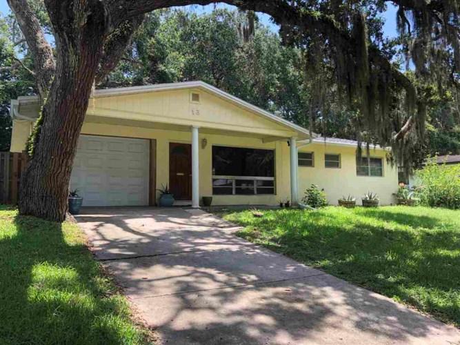 13 Oak Rd., St Augustine, FL 32080