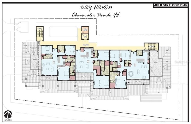 64 BAY ESPLANADE  #403, CLEARWATER, FL 33767