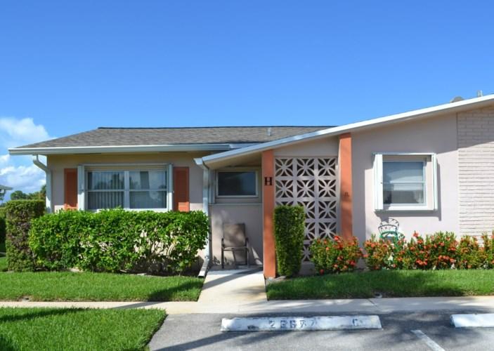 2655 Dudley Drive Unit H, West Palm Beach, FL 33415