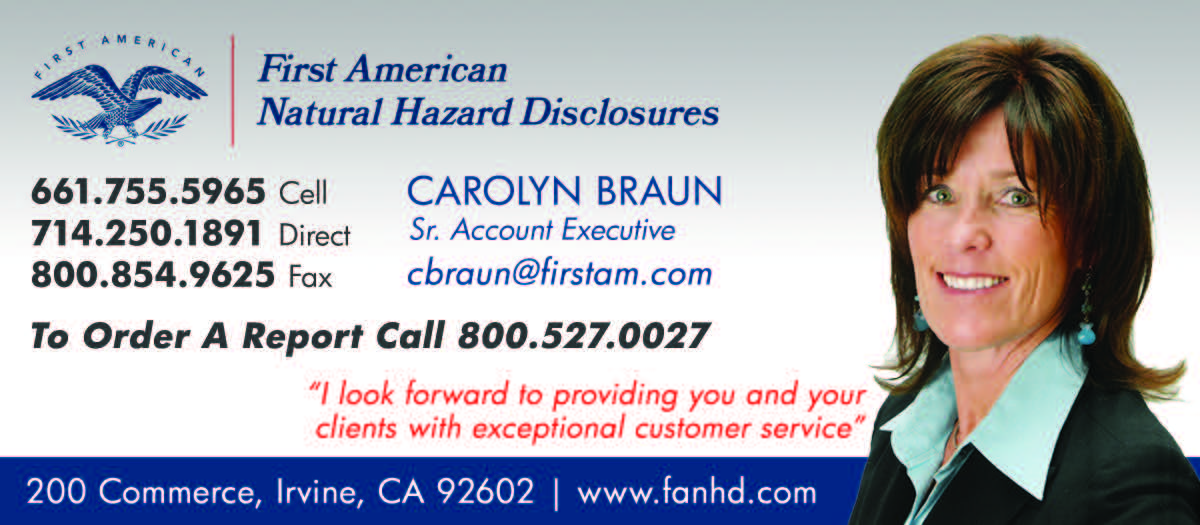First American Natural Hazard Disclosures
