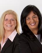 Shirin Nail & Cynthia Pellegrin