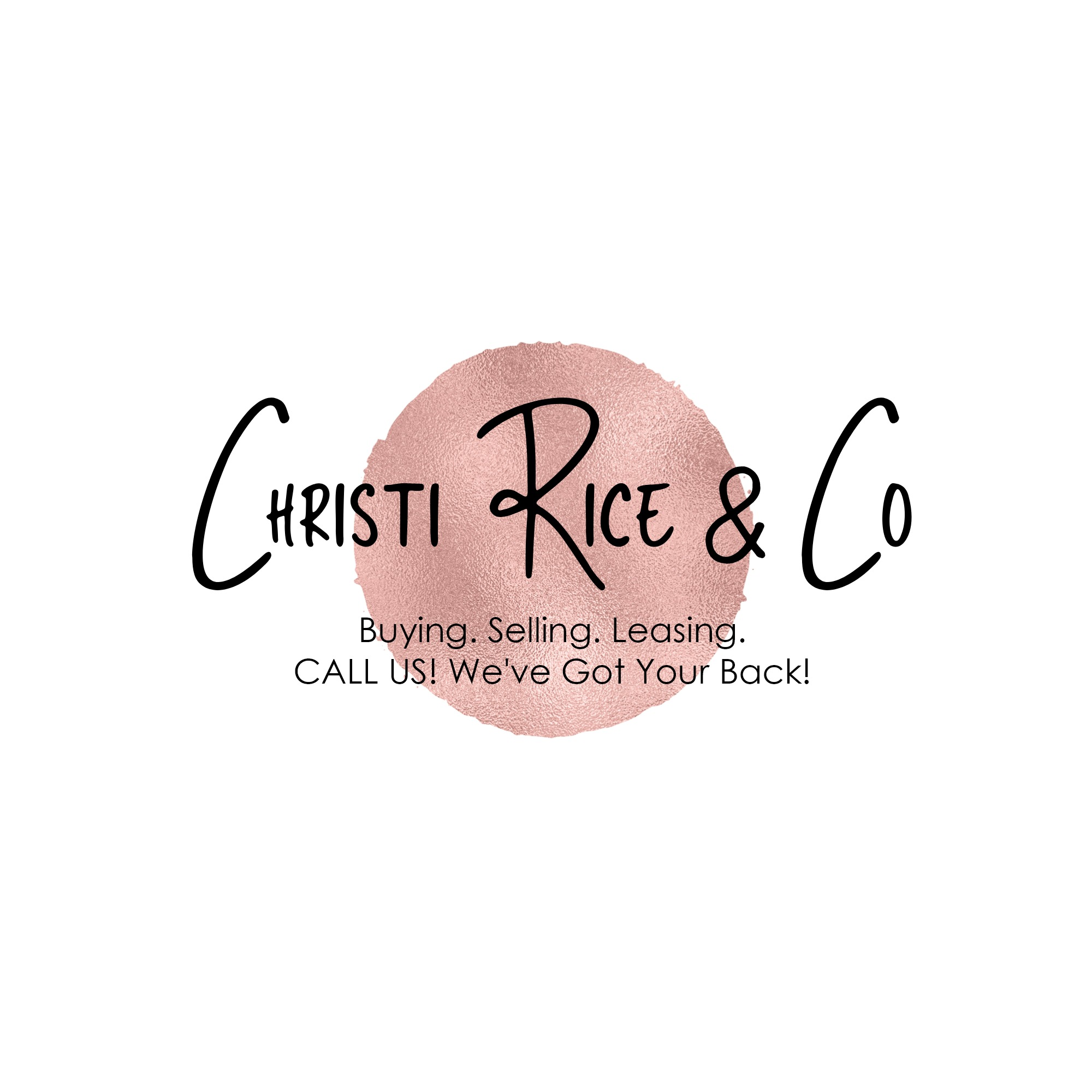 Christi. Jeff. Team. Christi Rice & Co.