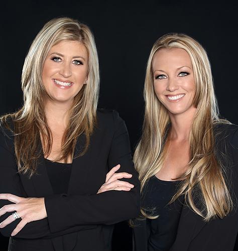 Megan Luce and Kelly Dinnsen  photo