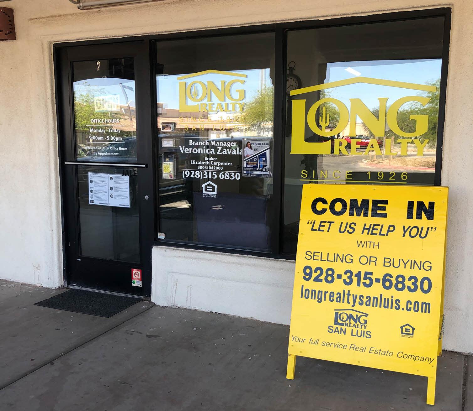 Yuma - San Luis - Long Realty Yuma