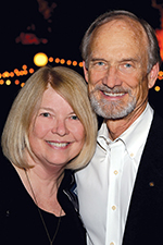 Christine and Russell Long