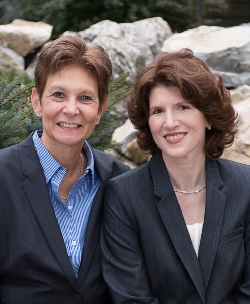 Sandra O'Keefe and Johanna Wiseman