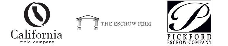 California Title Company, The Escrow Firm, Pickford Escrow Company